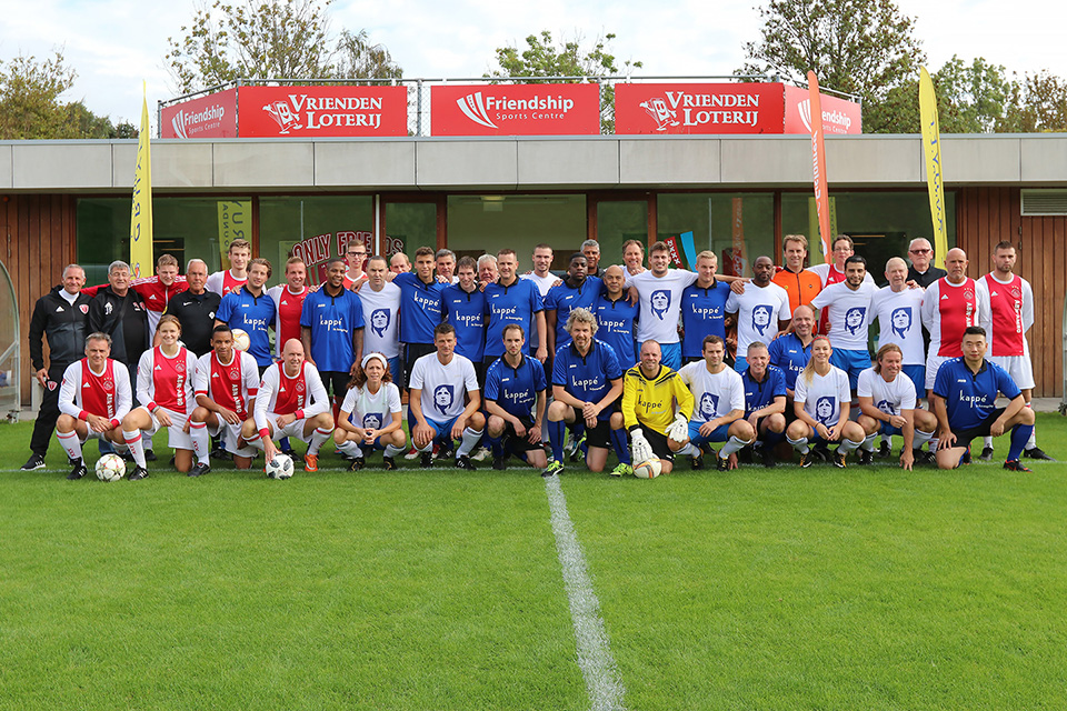 Only Friends Foundations, the Frienship Sports Center and the Johan Cruijff Foundation