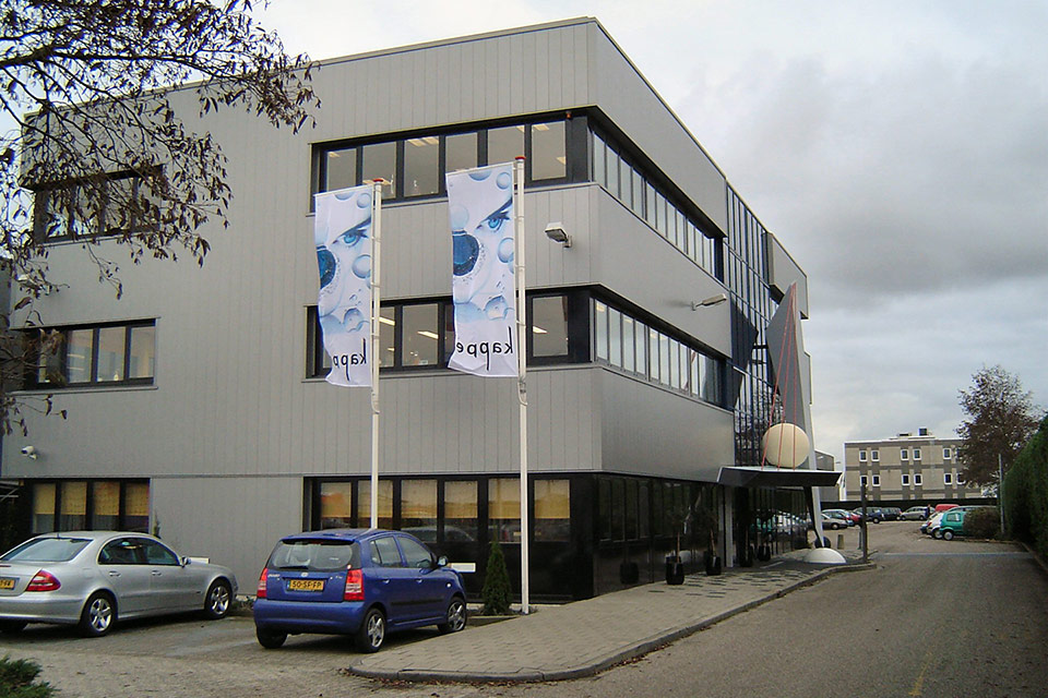Voorkant gebouw Kappé