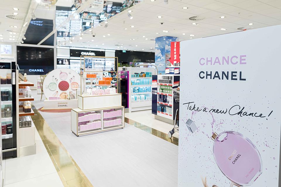 Voorbeeld van één van de winkels van Kappé op Schiphol